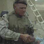 James in Afghanistan in 2004